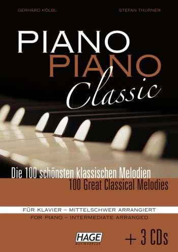 Piano Piano Classic - mittelschwer (+3 CD's)