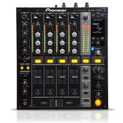 Pioneer DJM-700-K Mixer black