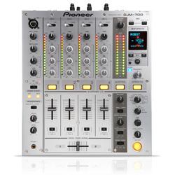 Pioneer DJM-700 Mixer silver