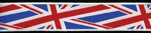 Planet Waves Gurt World Tour Union Jack