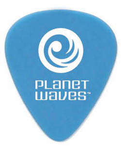 Planet Waves Picks/Plektren Set 25 Stk blau