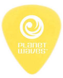 Planet Waves Picks/Plektren Set 25 Stk gelb