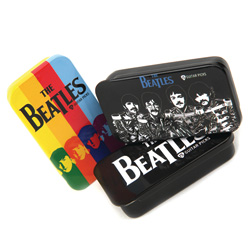 PlanetWaves 1CAB4-15BT2 Beatles Stribes Pick Box inkl. 15 Plecs