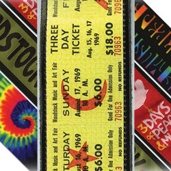 PlanetWaves 25LW01 Woodstock Leather Collection Tix Ledergurt