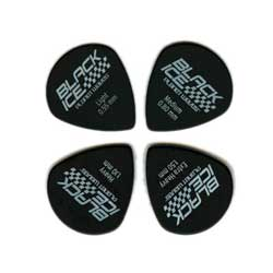 PlanetWaves 3DBK4-10 Black Ice Picks 10er Pack