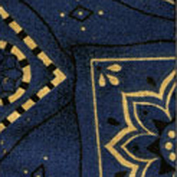PlanetWaves 50G03 Blue Bandana Gurt