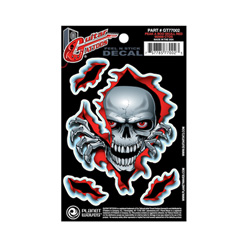PlanetWaves GT77002 Guitar Tattoo - Peek-A-Boo Skulls