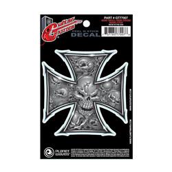PlanetWaves GT77007 Guitar Tattoo - Grey Iron Cross