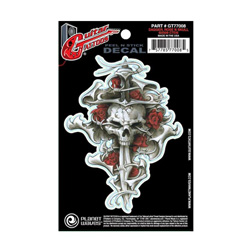 PlanetWaves GT77008 Guitar Tattoo - Dagger Rose Skull