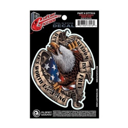 PlanetWaves GT77016 Guitar Tattoo - Freedom Eagle