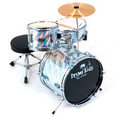 Platin Drumkids Junior-Set silber