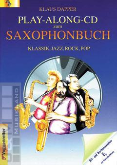 Play-Along-CD zum Saxophonbuch (Version Eb) - Klaus Dapper