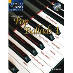 Pop Ballads 1 (+CD) für Klavier