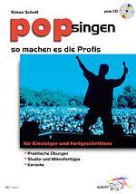 Pop singen - so machen es die Profis + CD