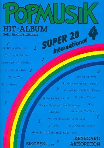 Popmusik Hit-Album Super 20: International 4