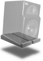 Primacoustic Iso Wedge für Nahfeld- Monitore schräg