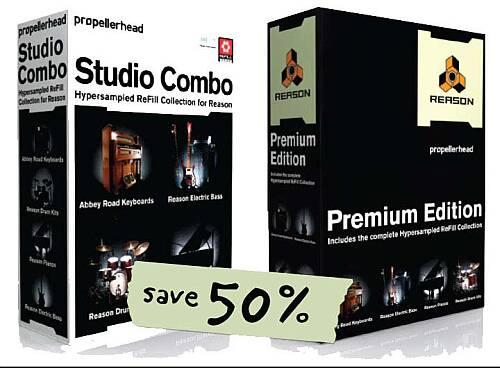 Propellerhead Reason 4.0 Premium