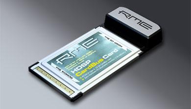 RME HDSP CardBus 2 Interface