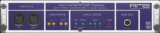 RME Digiface 52 Kanal 24 Bit/96 kHz I/O Box