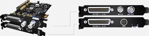 RME HDSPe AES-32 PCI-Express Karte