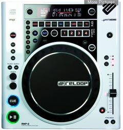 Reloop RMP-2 CD MP3 Player white