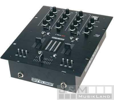 Reloop RMX-20 Mixer Black Fire