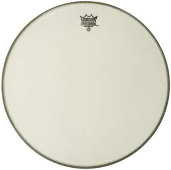 Remo Emperor smooth white 13""
