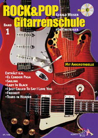 Rock & Pop Gitarrenschule + CD, Gerald Weiser SPL1016