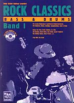 Rock Classics - Bass & Drums, Band 1 mit CD