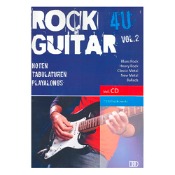 Rock Guitar 4U Vol. 2 inkl.CD