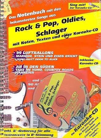 Rock und Pop, Oldies, Schlager, Volksmusik (+Karaoke-CD)