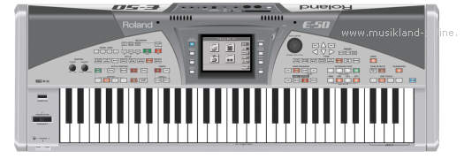 Roland E-50 Music Workstation Keyboard