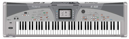 Roland E-60 Music Workstation Keyboard