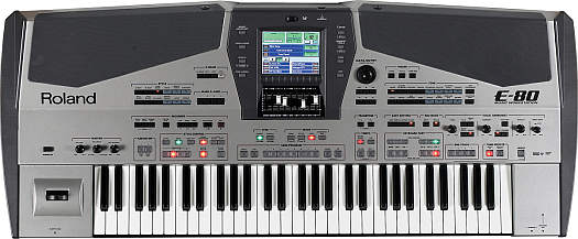 Roland E-80 Music Workstation Keyboard