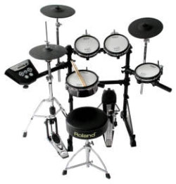 Roland TD-6 KS Standard Series E-Drumset mit MeshHead Pad und MDS-6 Rack