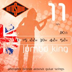 Rotosound JK12 Jumbo King Akustikgitarren Saiten