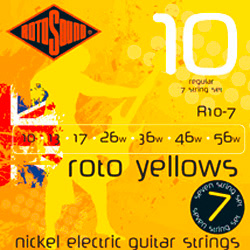 Rotosound R10 E-Gitarren Saiten Yellows