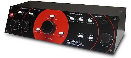 SM Pro Audio M-Patch 2.1 passiver Monitor/Sub Kontrolle
