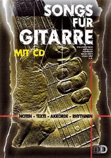 Songs für Gitarre mit CD