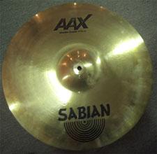 Sabian AAX Studio Crash 18''