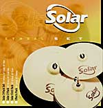 Sabian Solar Performance Becken Set