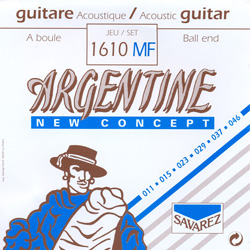 Savarez 1610MF Argentine Westerngitarren Saiten Extra Light