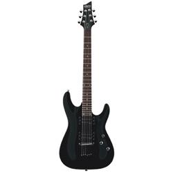 Schecter Omen 6 E-Gitarre Gloss Black
