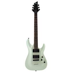 Schecter Omen 6 E-Gitarre Gloss White