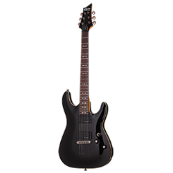 Schecter Omen Active 6 Black E-Gitarre