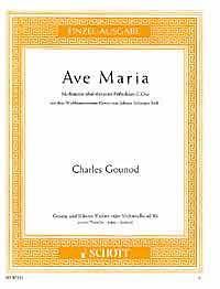 Ave Maria für Gesang und Klavier