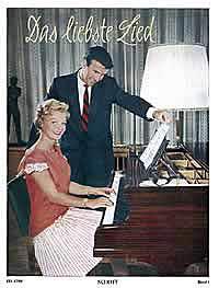 Das liebste Lied für Gesang und Klavier