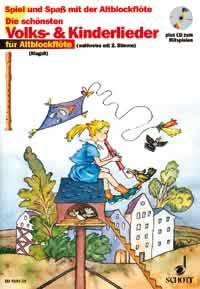 Die schönsten Volks- und Kinderlieder (CD) - 1-2 Alt-Blockflöten