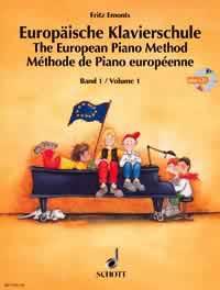 Europäische Klavierschule Band 1 inkl. CD