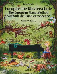Europäische Klavierschule Band 2 inkl. CD